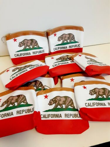 12 California Theme  Candy Bags Filler Coin Purses Keychain