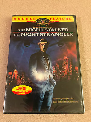 The Night Stalker The Night Strangler Darren Mcgavin As Kolchak Dvd New Sealed