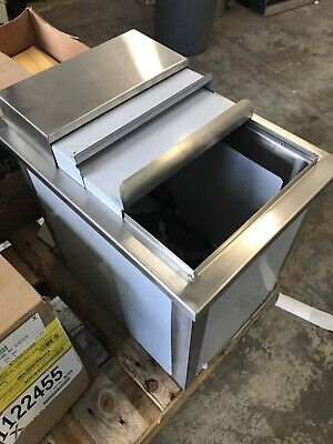 18 X 12 Stainless Steel Nsf Foam Insulated Silver Drop-in Ice Cube Bin Resto