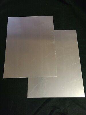 16 Gauge Mild Steel Sheet Metal 9x12 2pcs. 116 Thick