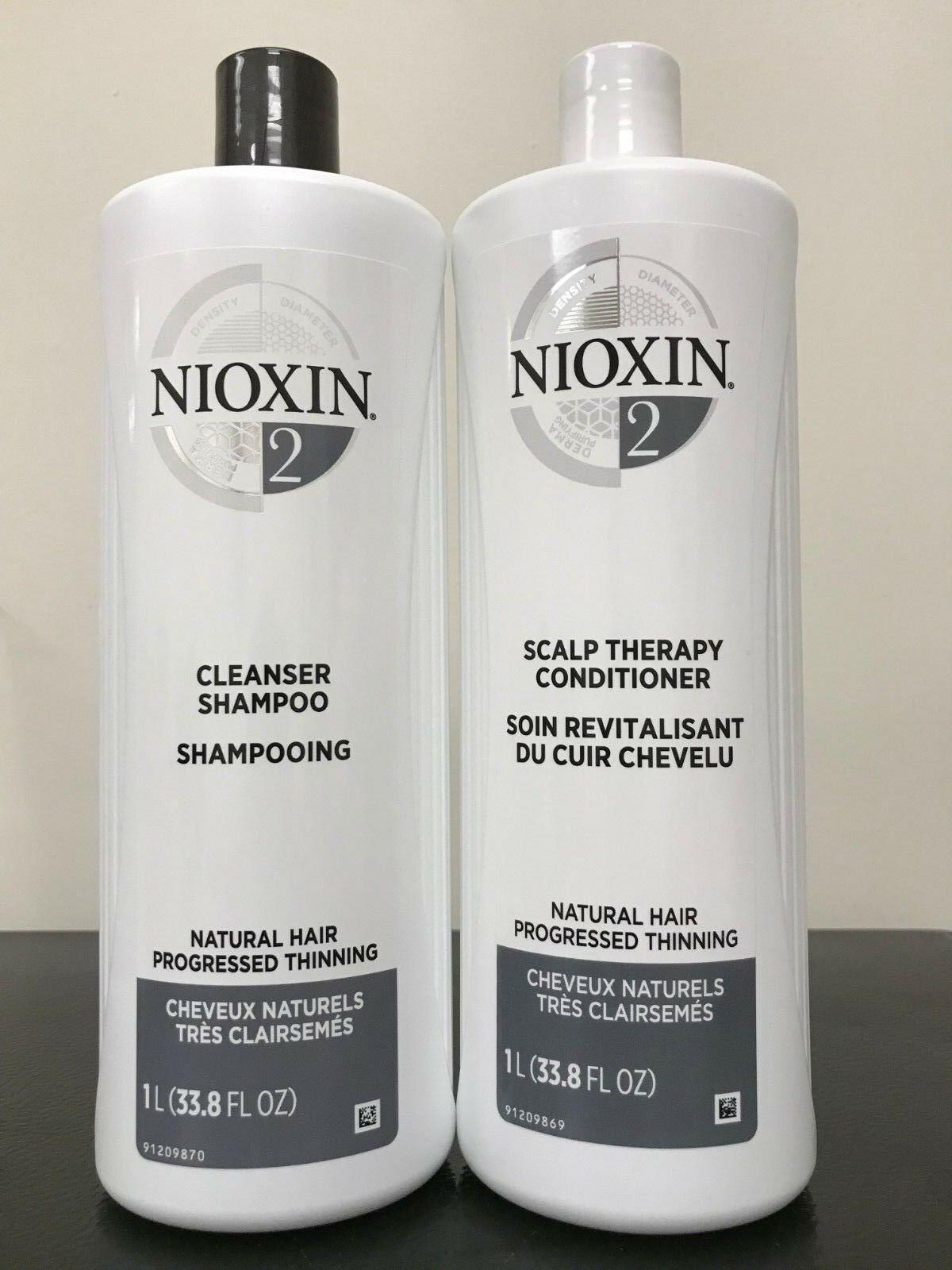 Nioxin System 2 Cleanser & Scalp Therapy Conditioner DUO SET