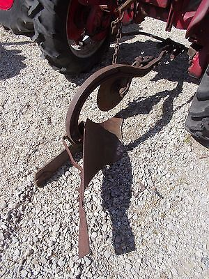 Farmall cub Tractor 1 bottom IH plow rolling coulter hand adjust lever bracket