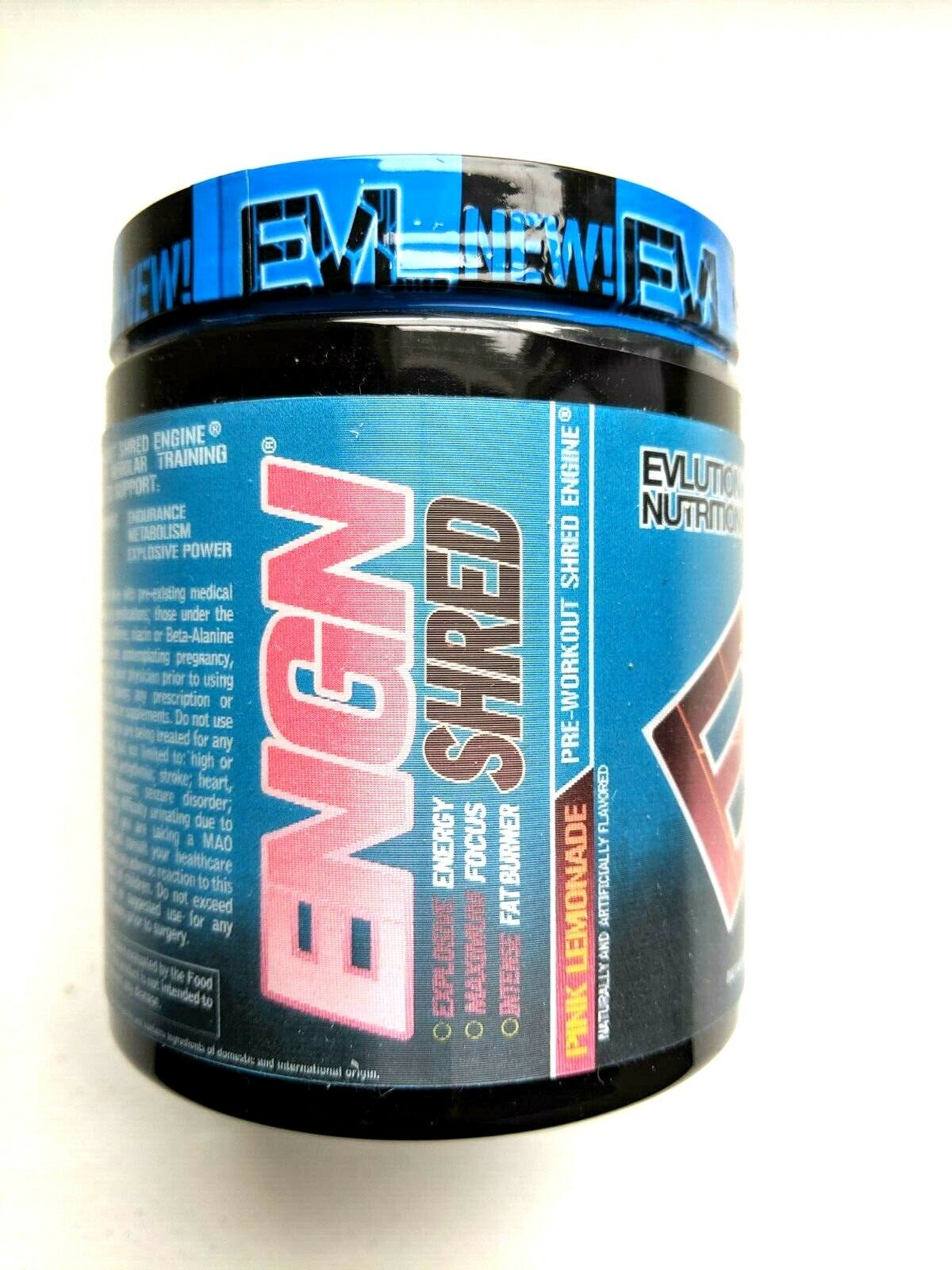 Evlution Nutrition ENGN SHRED Pre workout Intense Fat burner