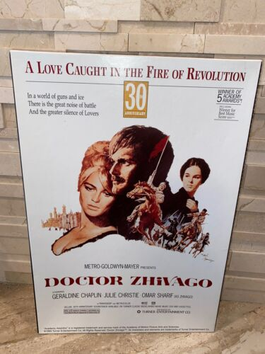 DOCTOR ZHIVAGO MOVIE POSTER 1100 PC JIGSAW PUZZLE