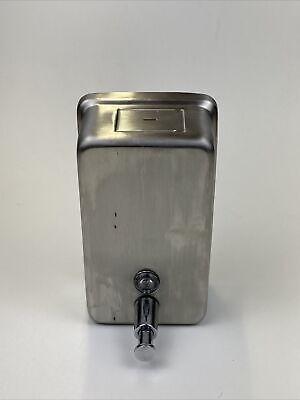 Bradley 6562-000000 Commercial Liquid Soap Dispenser Stainless Steel Wall Mount