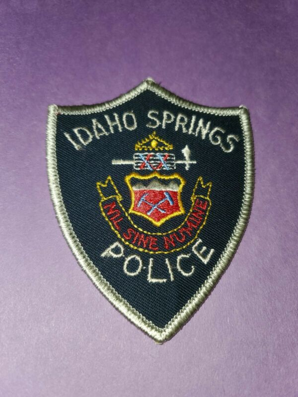 Idaho Springs Police Patch