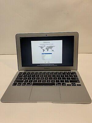 Apple MacBook Air 1.6 GHz Core i5 4GB RAM 128GB SSD 11-Inch (Early 2014)