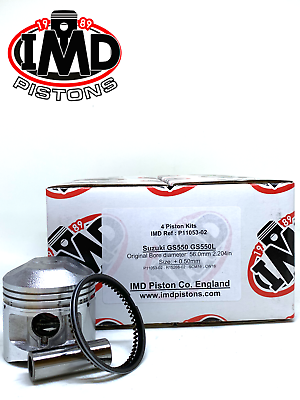 SUZUKI GS550 GS550E GS550L PISTON KITS For sale|Accessories