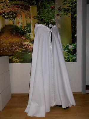 warmer Umhang Borte Brautumhang Braut Hochzeit Cape Hochzeitskleid Mantel Engel