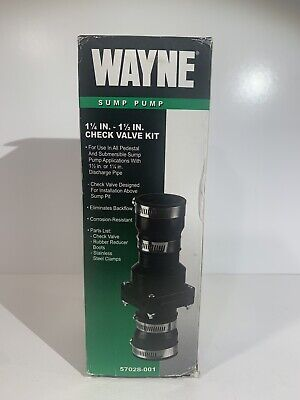 Wayne Sump Pump Check Valve Kit 1 - 1 57028-001