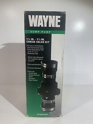 Wayne Sump Pump Check Valve Kit 1 - 1 57028-001