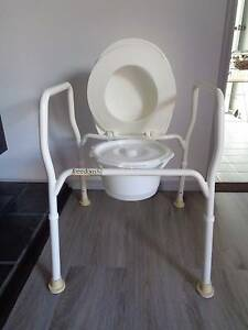 3 UNITS IN ONE COMMODE/OVER TOILET/SHOWER CHAIR FULLY ADJUSTABLE Caboolture Caboolture Area Preview