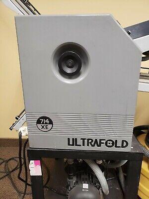 Baum 714xe Ultrafold 714c-2-air Feed Compact Folder