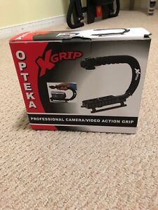 Action grip for cameras