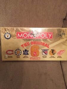MONOPOLY: NHL Original Six Collector's Edition