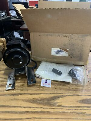 Manitowoc Ice Machine Water Pump Motor Assembly 8480483 76-2268-3 230v New
