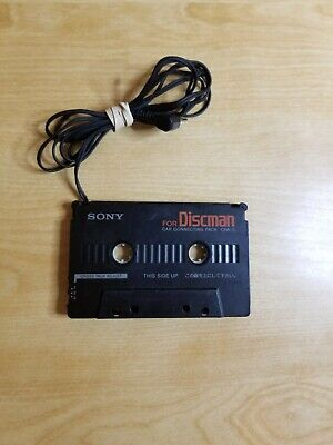 Sony CPA-3 Discman Car Truck Cassette Audio Connecting Tape MP3 Phone Connector