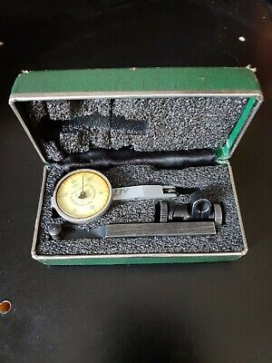 Federal Test Master T-2 .0001 Inch Jeweled Dial Indicator.