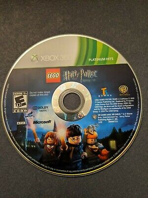 LEGO Harry Potter: Years 1-4 (Microsoft Xbox 360, 2010) Disc Only, Tested