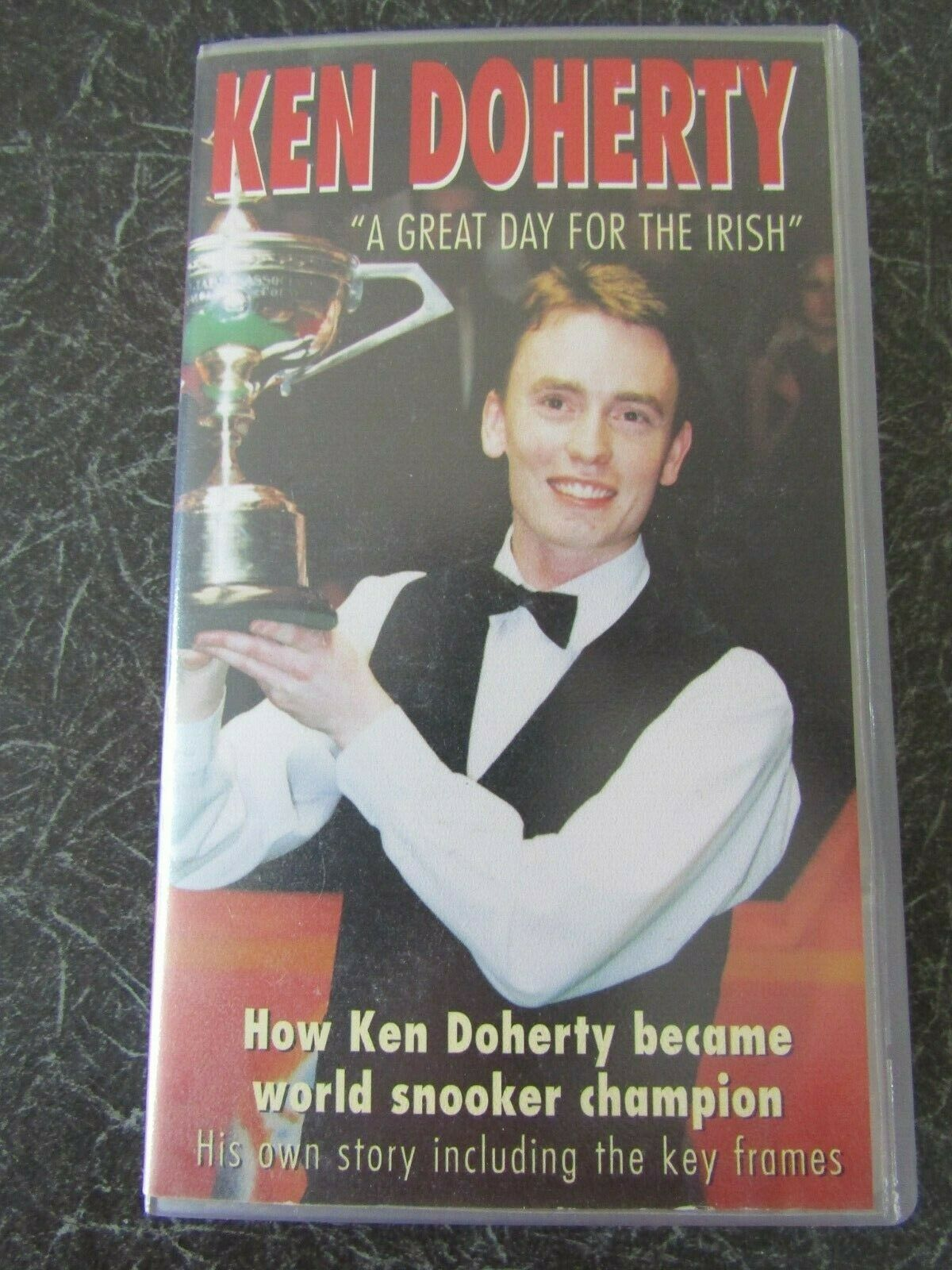 VHS Video, KEN DOHERTY A Great Day for the Irish1997 World Champion, 160 min.