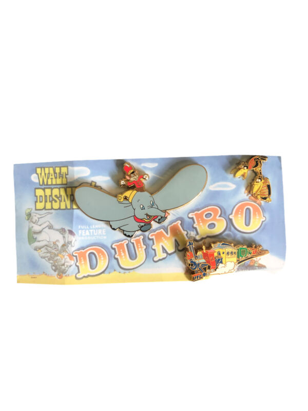 Disney Shopping Dumbo Le 300 Pin Set