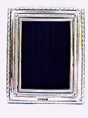 Lovely Finest Quality 999 Silver Hallmarked London & Britannia Marks Photo Frame
