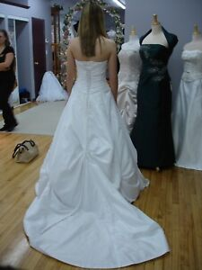 Maggie Sottero Dress and Veil