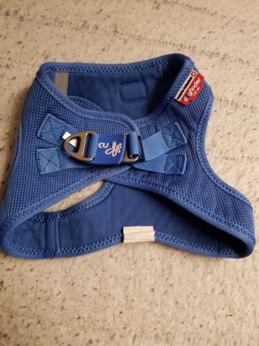 Curli Splash Gr. M Hundegeschirr Blau Special Edition Curly