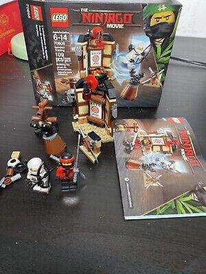 100% Complete LEGO 70606 The Ninjago Movie Spinjitzu Training 109pc