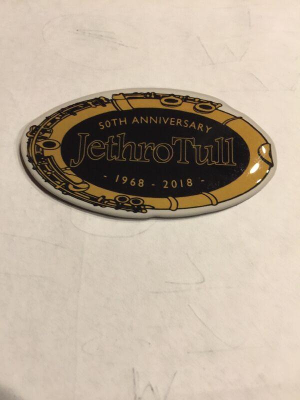 """Jethro  tull Official  Merchandise. 50"""" Anniversary Tour Magnet. Fridge Tool Box"""