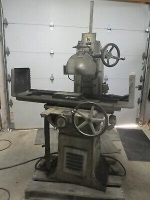 Vintage Abrasive Model 1-12 10x15 Hand Feed Surface Grinder
