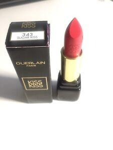 Brand new Guerlain kisskiss lip satin finish lipstick
