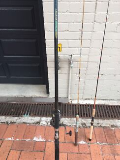 3.7 metre Fishing Rod and Butterworth Project 7000GT reel