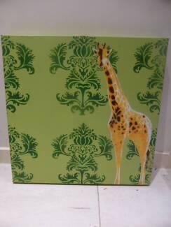 Framed Animal Canvas Art