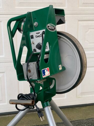 Atec Casey 2 Baseball - Softball Pitching Machine Adjustable Speed Pro Training