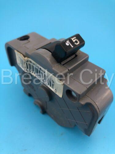 Federal Pacific / UBI Replacement Single or 1 Pole 15 A UBIF-15N Circuit Breaker