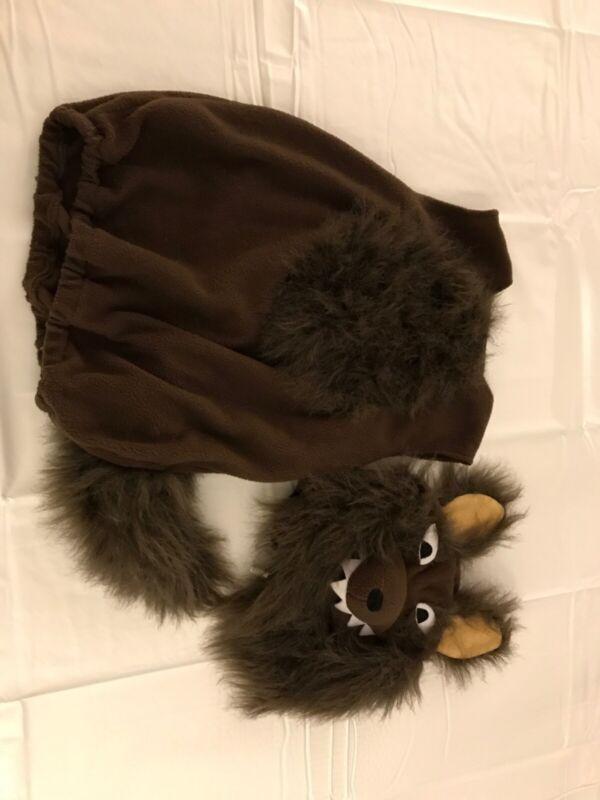 Potttery Barn Kids Wolf Halloween Costume, Size 4-6