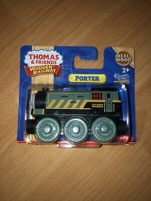 Thomas & Friends Wooden Railway Train Tank Engine - Porter - NEW 2013 BDF98