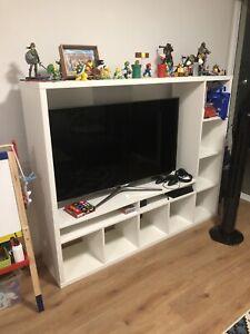 IKEA IKEA LAPPLAND TV storage unit, white, 183x39x147 cm