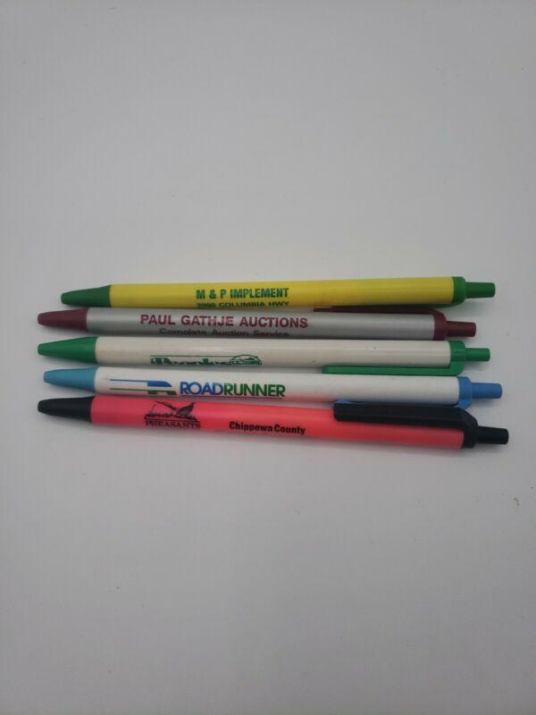 Lot Of 5 Advertising Pens Road Runner Paul Gathje Auctions