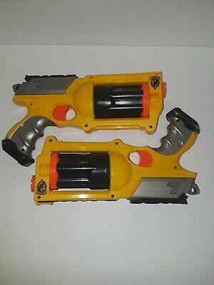 NERF Toy Dart Gun Maverick Rev-6  Six Shot Blaster.