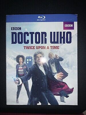 Doctor Who Twice Upon A Time Bluray Slipcover ONLY