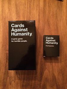 Cards against Humanity plus First Expansion