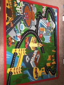 Cars activity carpet