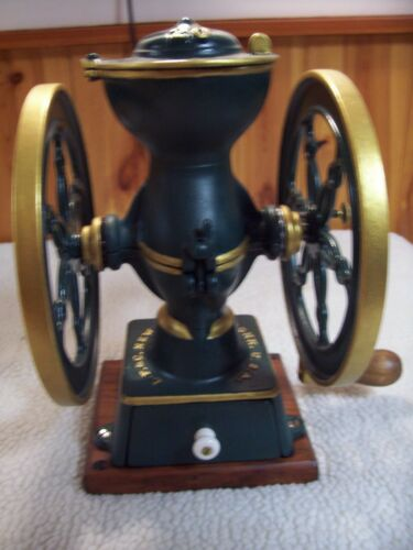Landers, Frary & Clark # 20 two wheel Coffee Grinder/VG cond./recent refurbish