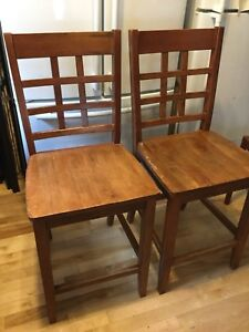 Assorted Bar stools counter height