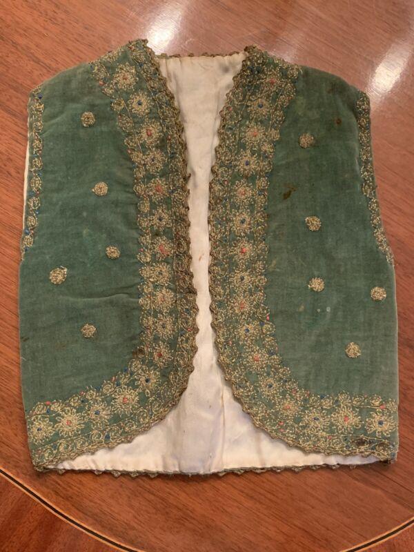 Rare Early 20th Century Child's Vest Lace Repurpose