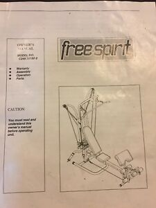 Free spirit work out machine