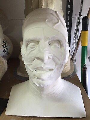 Vincent Price House of Wax Life Size Resin Bust Halloween Horror Monster Jarrod - Vincent Price Halloween
