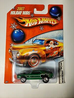 2007 Hot Wheels HOLIDAY RODS Ford Mustang Mach 1  Limited Edition